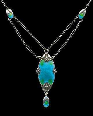Souvent Histoire des bijoux Art Nouveau CG42